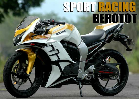 referensi modifikasi byson fi full fairing