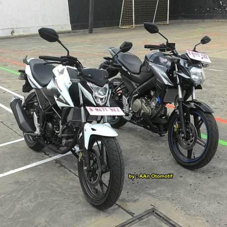 Sumber : http://pertamax7.com/2015/08/27/kala-all-new-honda-cb150r-jejer-bareng-yamaha-new-vixion-advance-kekar/