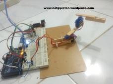 Robot Lengan Dua Sendi